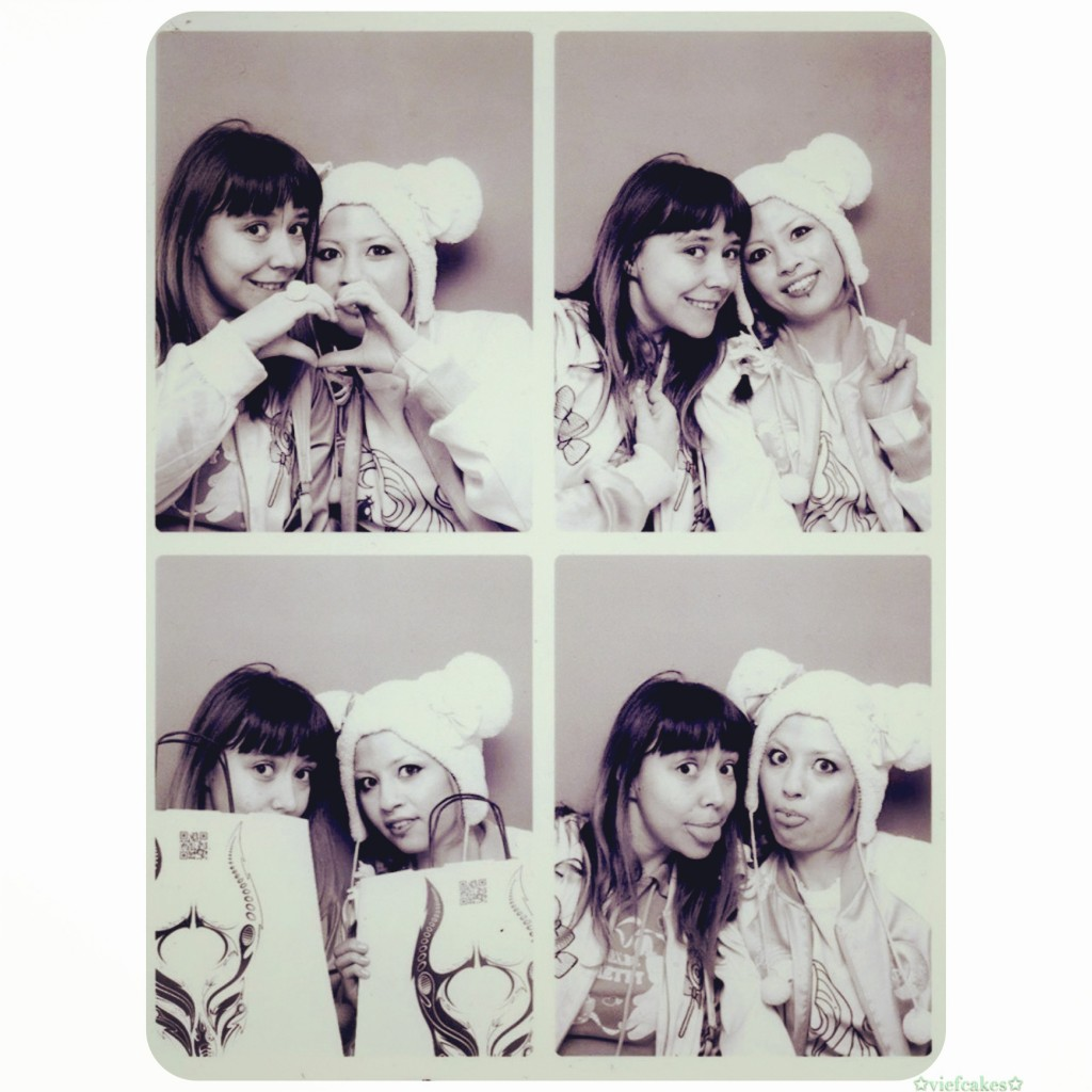 photobooth with my Annso dear